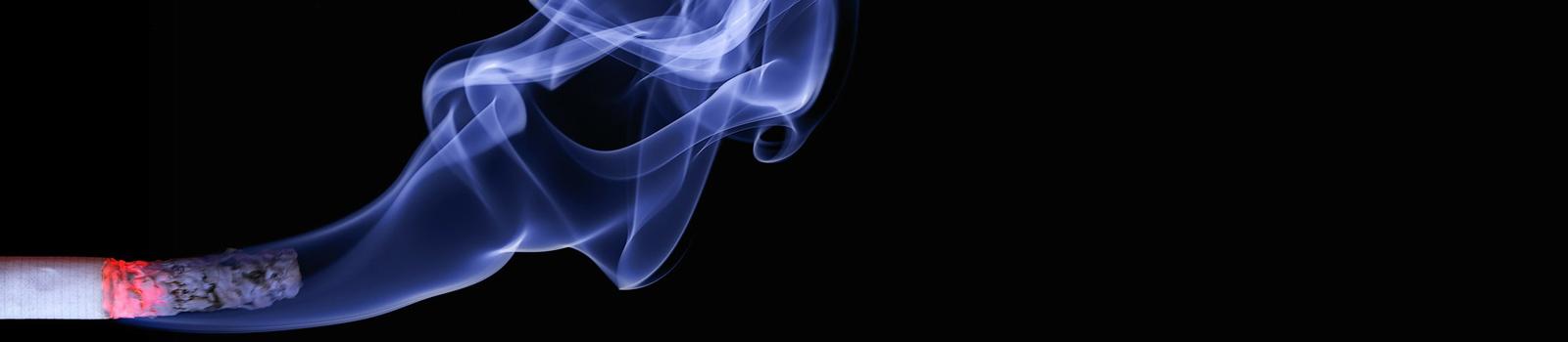 Zigarettenqualm und Nichtraucher